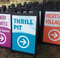Festival Wayfinding Sign