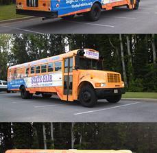 Festival Bus Signs