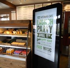 Fast food digital displays
