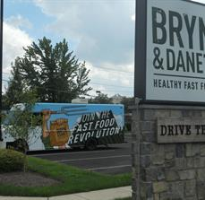 Restaurant signs and truck wraps