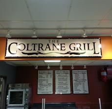 Grill signs and menu boards