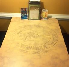 MK - Fast food table graphics