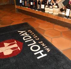 Holiday Wine Cellar Floor Mats