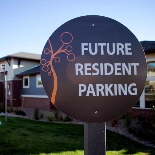 Custom Designed Resident Parking Sign