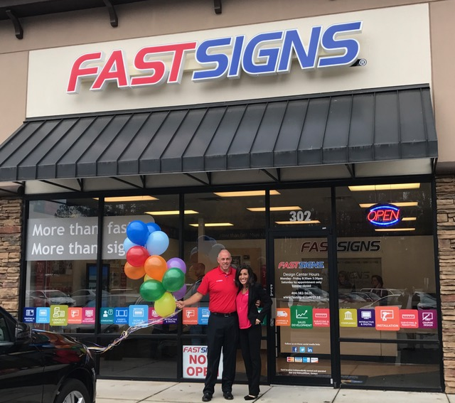 FASTSIGNS Johns Creek_Ben and Melissa Wilson