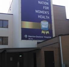 Henrico Doctors' Hospital Exterior Banners
