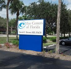 Physician office building signs