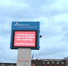Hospital Outdoor LED Digital Sign