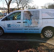 Medical van graphics