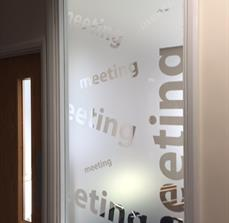 Custom Meeting Room Privacy Glass
