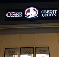 Credit Union Building Signs