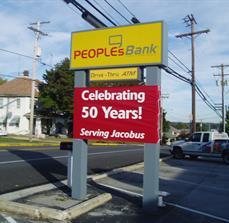 Custom Bank Banners
