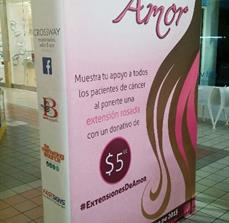 Extensiones De Amor Trade Show Display