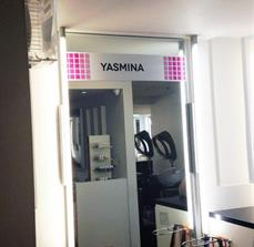 Yasmina Door Sign
