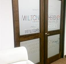 McCain Foods Etched Glass