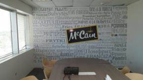 McCain Foods Wall Sign