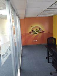 McCain Foods Wall Graphics