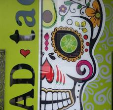Mad Taco Wall Display