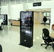 Car dealership digital kiosks