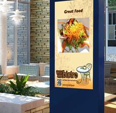 Restaurant kiosks