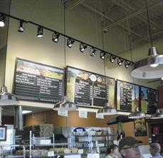 Deli Magnet Menu Board