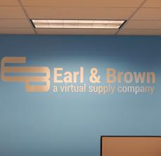 Supply Company Wall Lettering