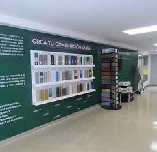 Product Display Wall