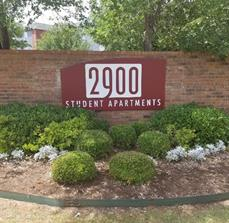 2900 Apartments Wall Sign