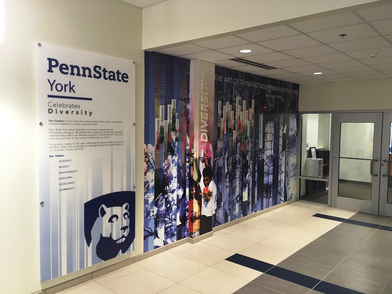 FASTSIGNS of York project of the year - Penn State