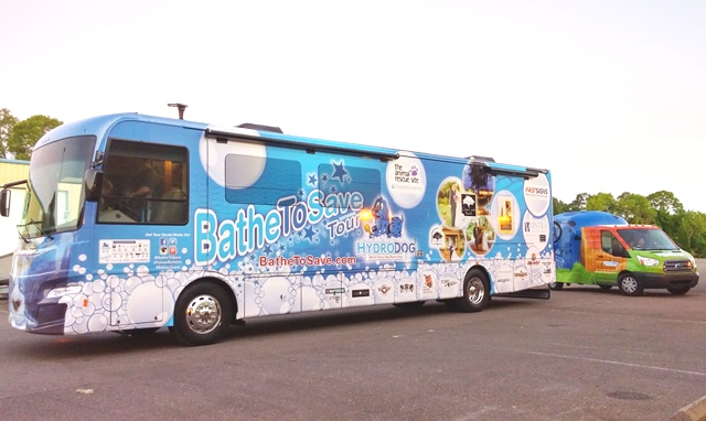FASTSIGNS® Sponsors Bathe to Save Tour That Raises Funds for US Animal Rescue Organizations