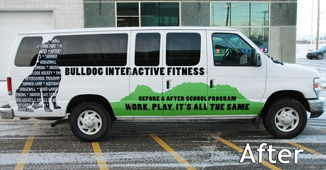 fastsigns_cestaric_bulldog_interactive_fitness_van_after
