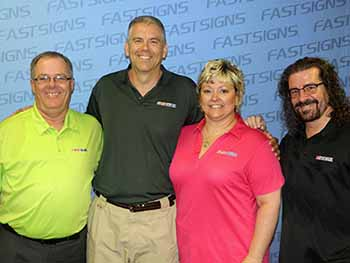 Military Veteran Opens First FASTSIGNS® Location in Lynchburg