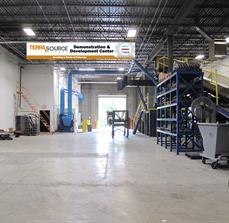 Gas company warehouse banners