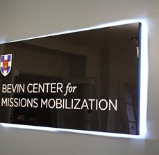 Illuminated University Signs