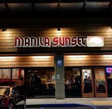 Manila Suinset Building Letters