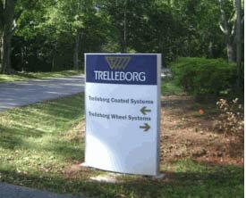 Trelleborg Site Sign
