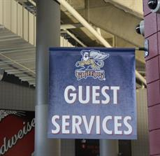 Guest services banner