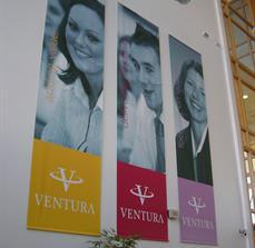 Indoor Business banners