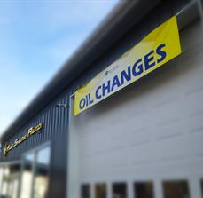 Oil Change Banners