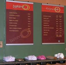 Custom Point Of Purchase Menu Boards
