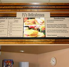 Deli Menu Boards