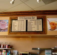 Point Of Purchase Menu Boards
