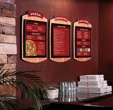 Pizza Restaurant Menu Boards