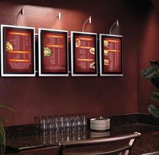 Wall Mounted Menu Boards