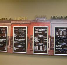 Custom Cafe Menu Boards