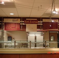 Cafeteria Point Of Purchase Signs