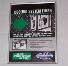 Custom automotive service center posters