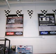 Automotive service center posters