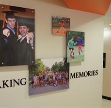 Classroom wall art