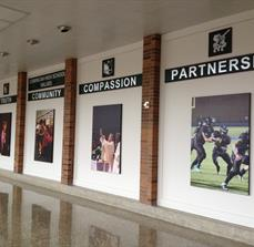 School athletic wall prints